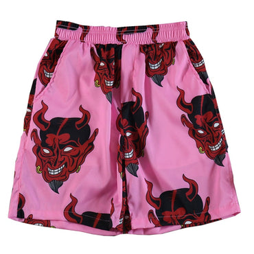 Devil Full Printed Shorts