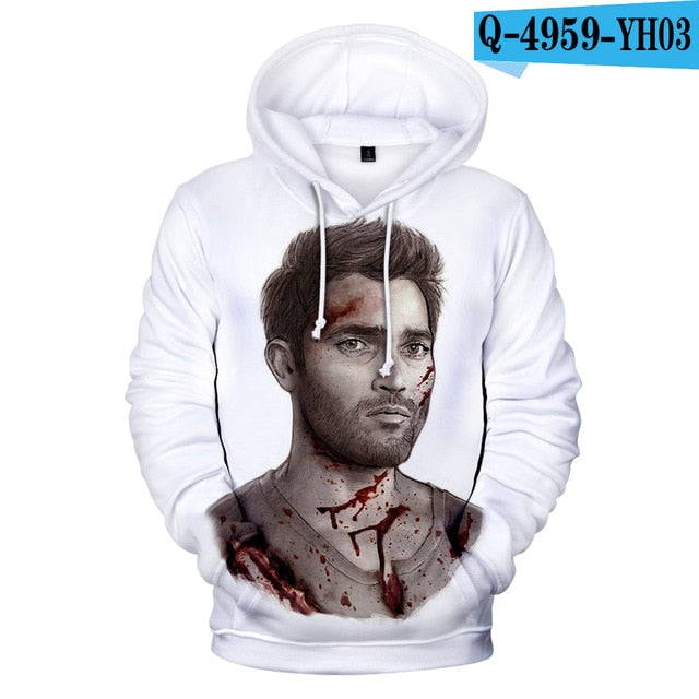 3D Print Teen Wolf Hoodies