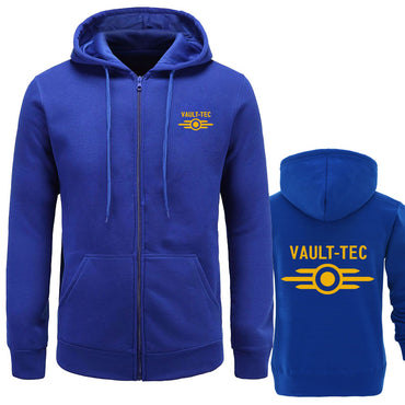 Vault -Tec logo Gaming Video Game Fallout print Casual Apparel Hoodies