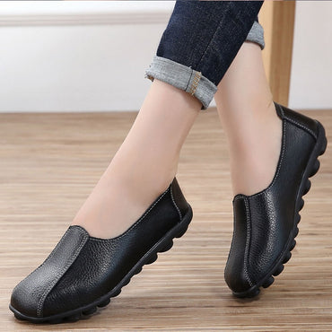 Loafers genuine leather Flat Shoes