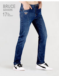Embroidery Straight leg Cotton Lightweight Jeans