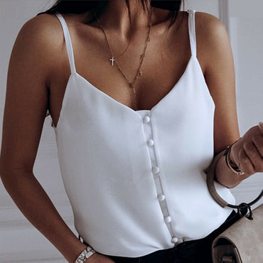 Casual Tank Tops Vest Blouse Sleeveless Crop Shirt Tops