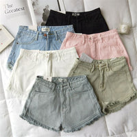 Casual Mini   Denim Shorts