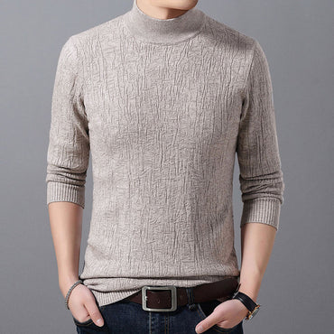 turtleneck winter warm pullover sweater