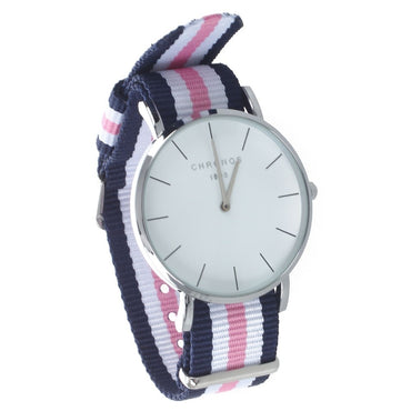 Casual Sport Clock Classical Nylon Quartz Wrist Watch