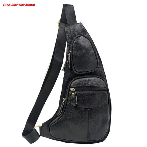 Leather Cowhide Retro handbags