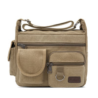 large capacity multi-layer Messenger handbags