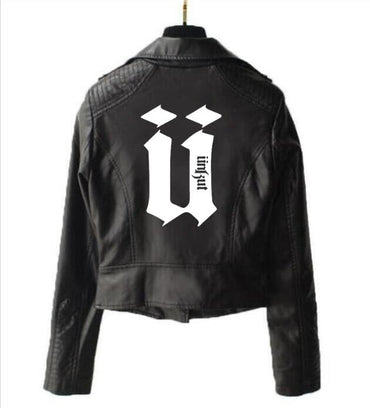 uppercase U unkut jacket short leather Jackets & Coats