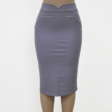 Bodycon PU Leather Club Pencil Skirt