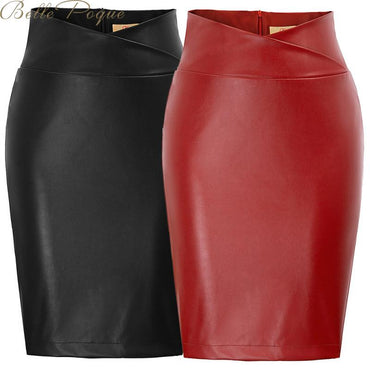 Sexy High Waist Bodycon Split Skirt
