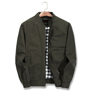 Cotton Jacket Slim Fit Thin Windbreaker Jackets & Coats