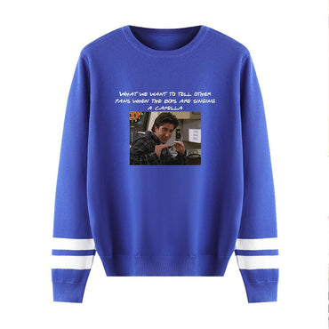 Knitting  Casual Pullovers Classic Sitcom Sweaters
