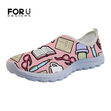 Casual Breathable Mesh Beach Loafers  Flat Shoes