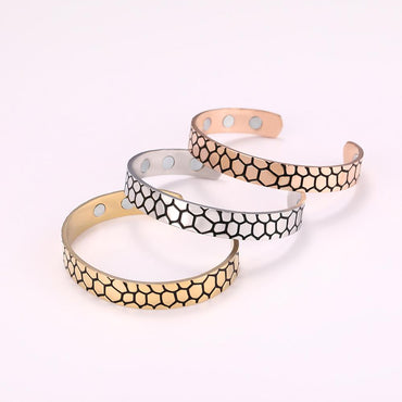 Stainless Steel Rose Gold Color Bracelets & Bangles