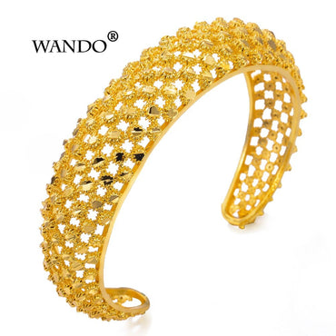 Twill Dot Hollow Bangles Luxury Bracelets & Bangles