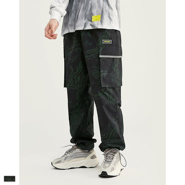 Long Pants Hip Hop  Elastic Sweatpants Jogger Casual Trousers Pencil Track Pant