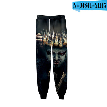 Casual High Quality Casual Warm Slim Viking Pants