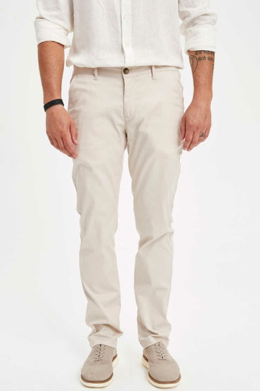 Casual Solid Straight Loose Pants
