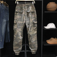 Loose Camouflage Cargo Pants