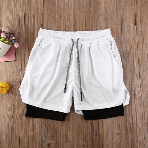 Lined Workout Sports Casual Shorts