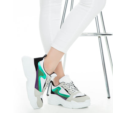 Lela multi color Shoes & Sneakers
