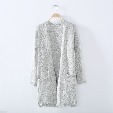 Long Sleeve Oversized Loose Knitted Sweater Jumper Cardigan Sweaters