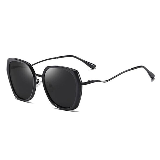 Big Cat Eye Polarized Sunglasses