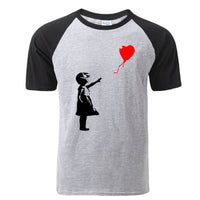 Funny Float Balloon Girl T-Shirt