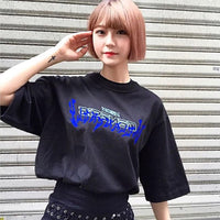 Game Evangelion shirt cotton casual T-shirt