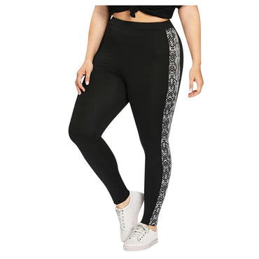 3d Leopard Printed Pants Outdoor Sports Fitness Leggings