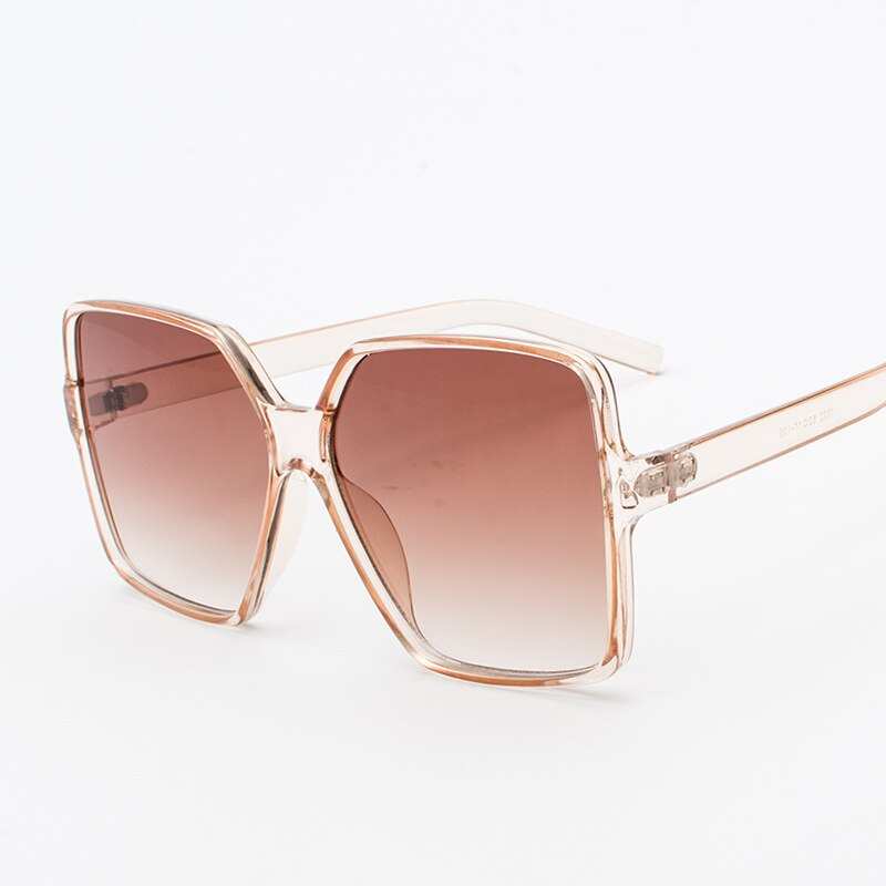 Oversized Champagne Sunglasses