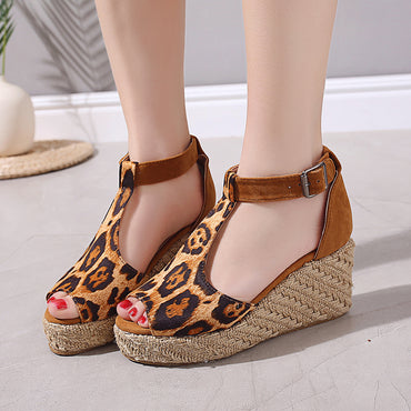 Open Toe Wedges Sandal