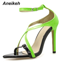 Peep Toe High Heels Sandals