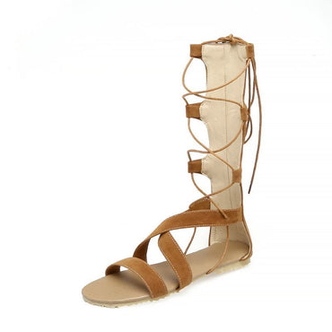 Boho Flock Open-toed Sandals