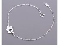Sterling Silver Lovely Piggy Bracelets & Bangles