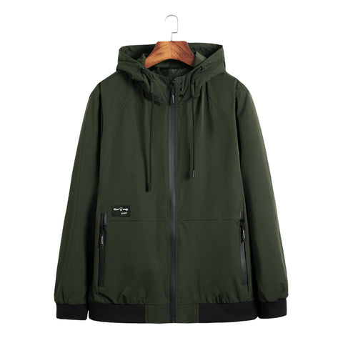 Pilot with Patches Green Both Side Wear Thin Pilot Bomber Jackets & Coats