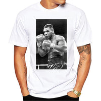 Mike Tyson Poster Printed Casual T-Shirt