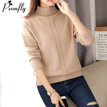 Korean Style Turtleneck Sweater
