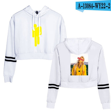 crop top Sweatshirts Billie Eilish Hoodies