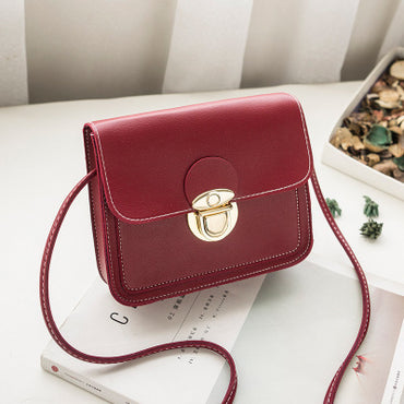 Mini PU Leather Crossbody handbags