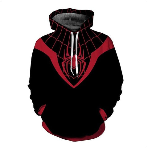 Pullover Spiderman Captain America Deadpool Spider-man Venom Casual Sweatshirt Hoodies
