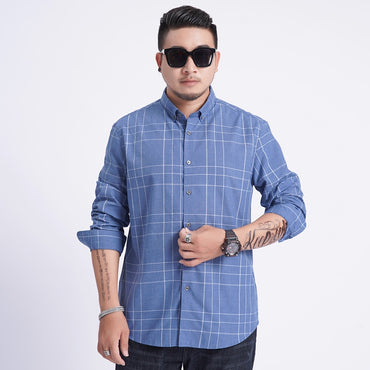 Long Sleeve  Large Casual Social Dress Shirt