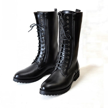 Pu Leather Motorcycle Boots