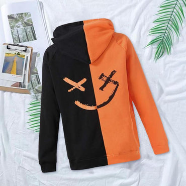 Casual Hooded Popular Polyester Coats Printing Loose hoodies