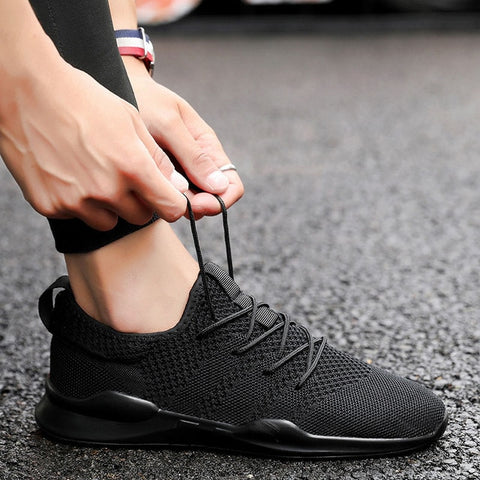 Red Black Gray Comfortable Non-slip Soft Mesh Shoes & Sneakers