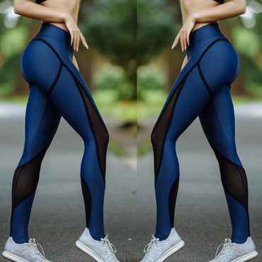 High Waist Tights Pants Solid Sports Wear Leggings