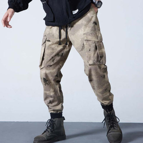 Army Camouflage Cargo Pants