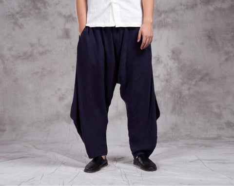 Chinese Style Linen casual pants