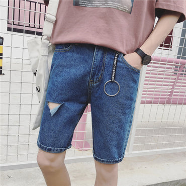 Korean-style  Fifth Pants Youth Shorts
