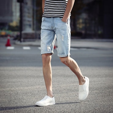 Korean-style Slim Fit Shorts